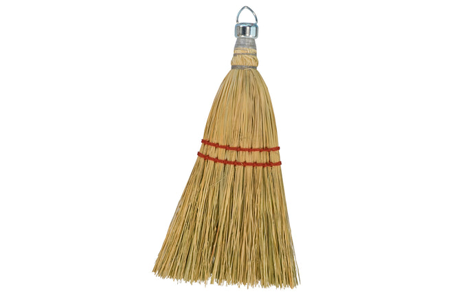 Corn Whisk Broom - Natural Fibers ~ 11