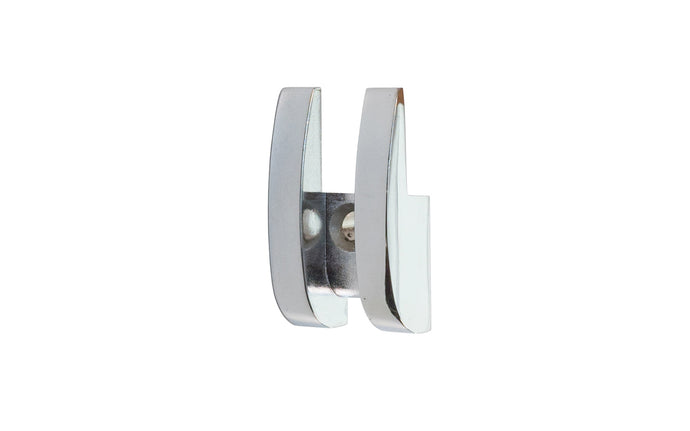 Chrome Decorative Mirror Clip for 1/4