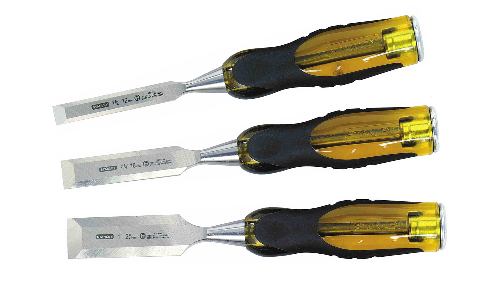 Stanley 3-Piece FatMax Wood Chisel Set ~ 1/2