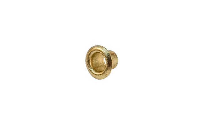 Sleeve for 5 mm Shelf Support Pin - Brass Finish - KV Model No. 326-BR - Knape and Vogt - Sleeve Grommet