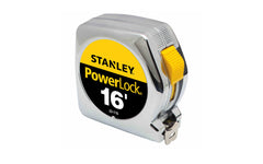 Stanley Powerlock 16' Tape Measure ~ 33-116 - Made in USA