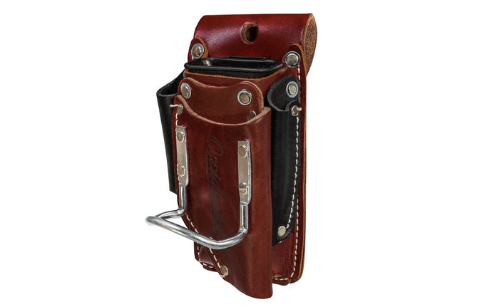 Occidental Leather 5-in-1 Tool & Hammer Holder Holster ~ 5520 - Made in USA ~ Made of Sturdy genuine Leather - 5-in-1 holster - 4
