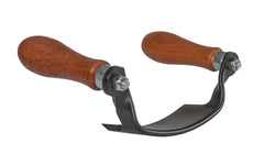"5"" Curved Draw Shave - Inshave good for many woodworking needs including wood stock removal & debarking logs or firewood"