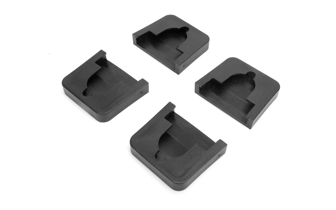Pony Pipe / Bar Clamp Pads - Pony / Jorgensen Model No. 7456 - Cushions, holds, & protects - Non-marring, non-sticking, non-slipping durable plastic pads