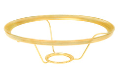 "Aladdin 10"" Brass Plated Ring Shade ~ No. 401RB"