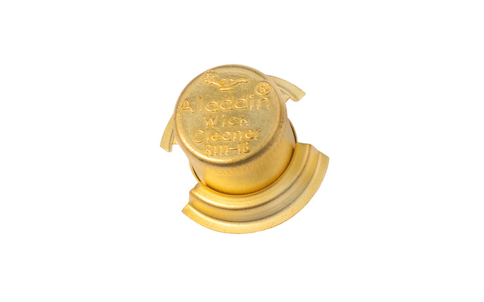 Aladdin Wick Cleaner ~ Brass