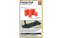 FastCap Qwikdraw Micro Clamp Pad ~ 2 Pack ~ Model No. CLAMPPADMICRO