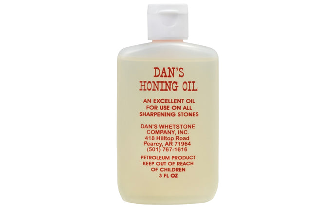 Dan's Honing Oil ~ 3 oz - Made in USA