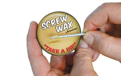 FastCap Screw Wax ~ Fastener Lubricant - Made in USA