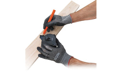 FastCap Skins HD Work Gloves - Latex Coated Palms - Model SKINS HD ~ Excellent for general construction, handling wood lumber & melamine, mill work, glass handling, metal parts, automotive repair & parts assembly
