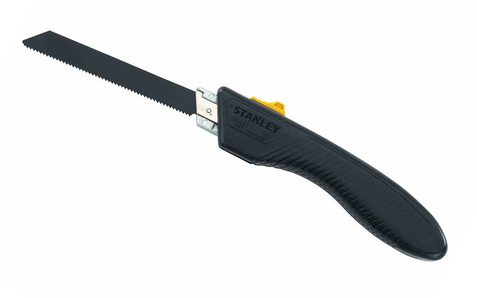 Stanley Folding Pocket Saw ~ 15-333 - Made in USA ~ Accepts standard saber & reciprocating blades