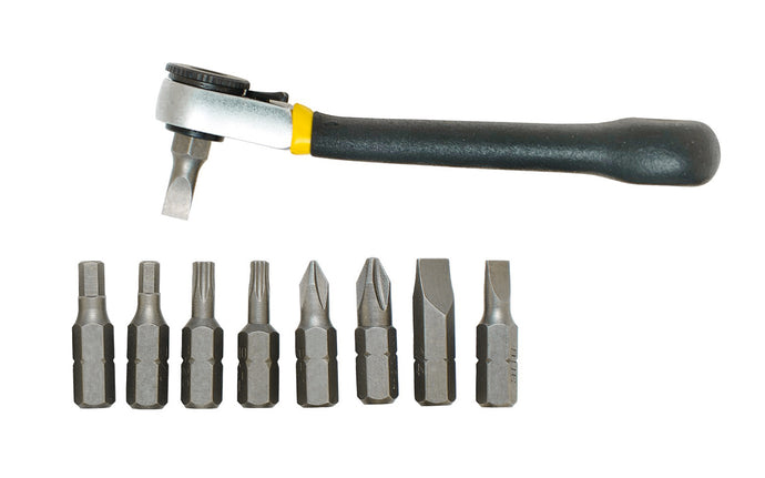 9-Piece Ratcheting Offset Screwdriver Set - Model No. 80075