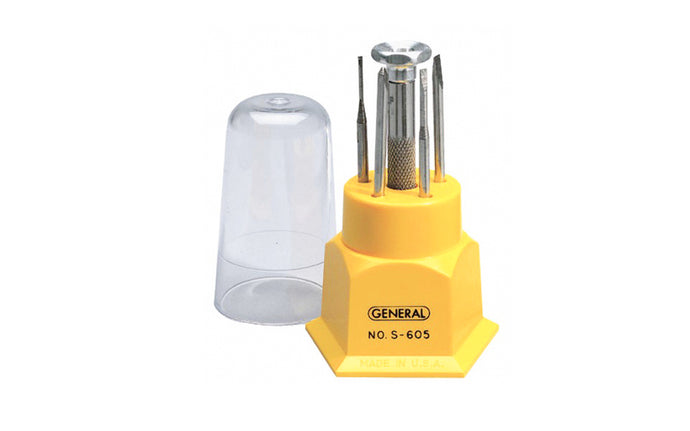 5-Piece Jeweler's Screwdriver Set - Model No. S605