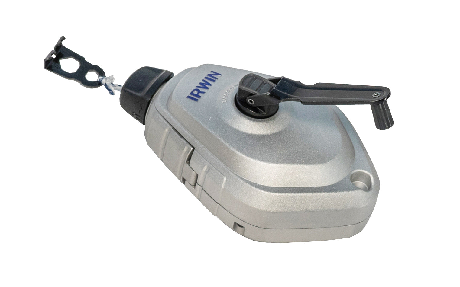 Irwin 100' Strait-Line Chalk Line Reel - Model No. 1932877 ~ Irwin Strait Line MACH6 ~  gear ratio to rewind the line 6X faster than traditional chalk reels