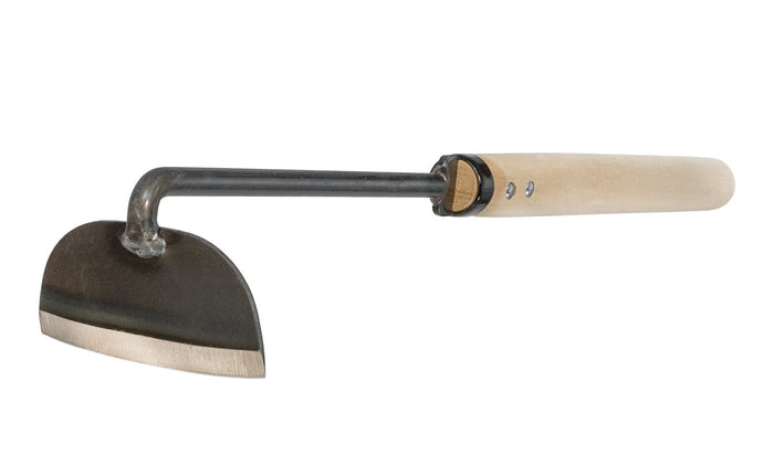 Made in Japan - Japanese sharp weeder with a long neck ~ high carbon steel ~ Cutting blade - Cultivator ~ Hoe - Scythe - Blade in center - 3