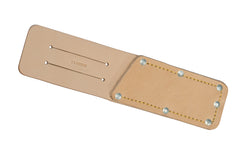 "CS Osborne Leather Sheath - 10"" Length ~ No. 72 - CS Osborne Safety Sheath - Knife Tool Sheath  - Made in USA - Stitched edges reinforced with rivets - Leather material - #72"
