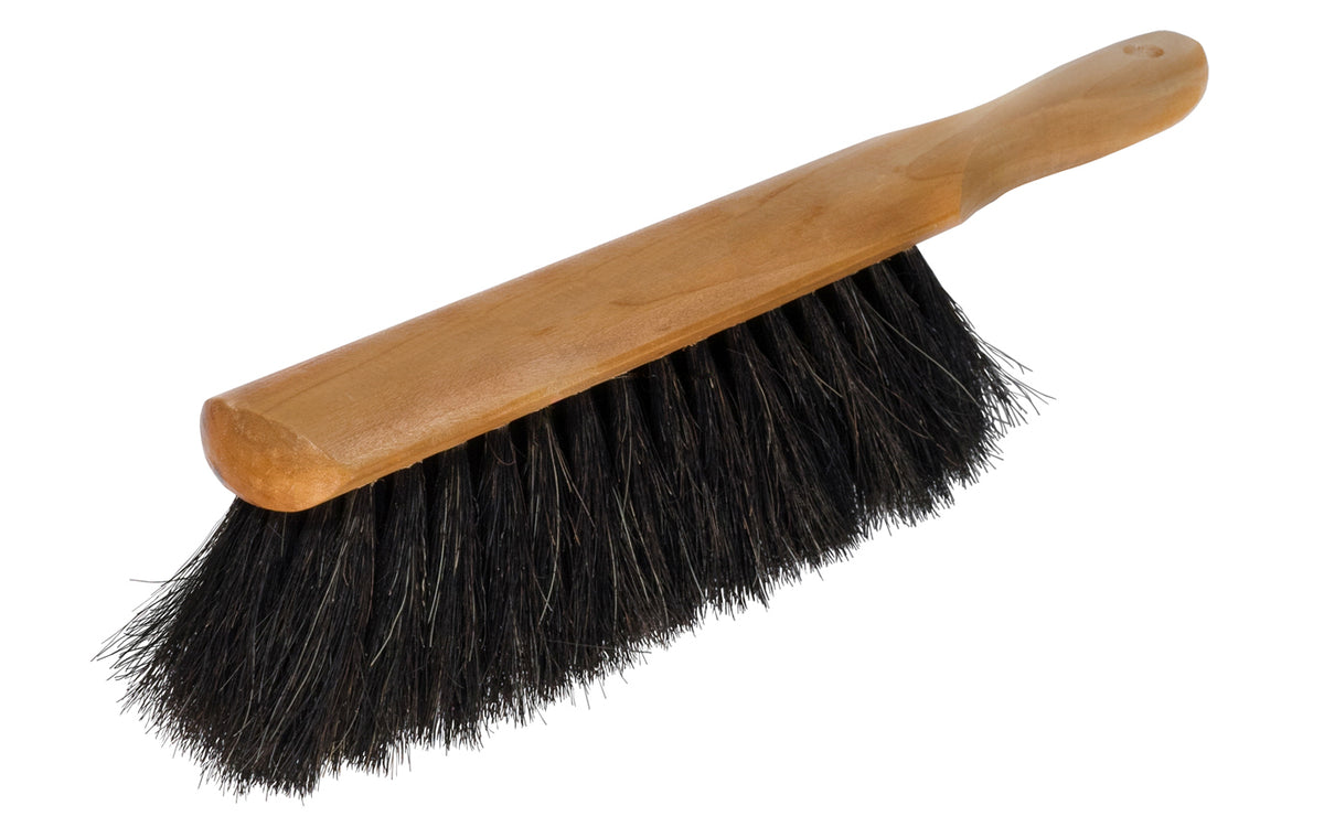 Bench Brush ~ Black Horsehair - Magnolia Counter Duster Model No. 54
