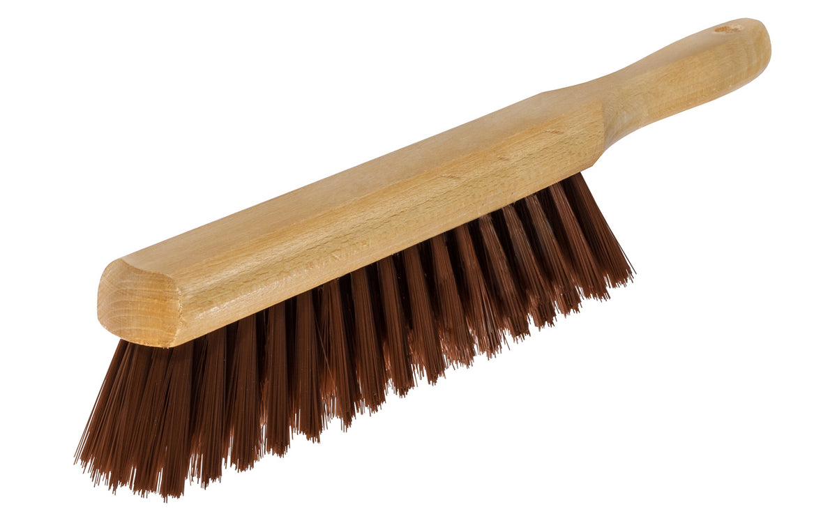 Bench Brush ~ Brown Plastic Bristles