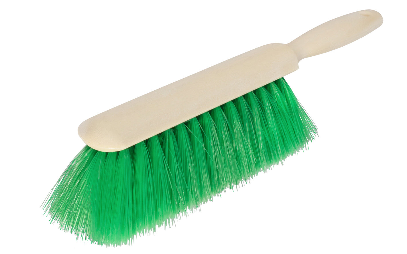 Bench Brush ~ Green Nylex Bristles