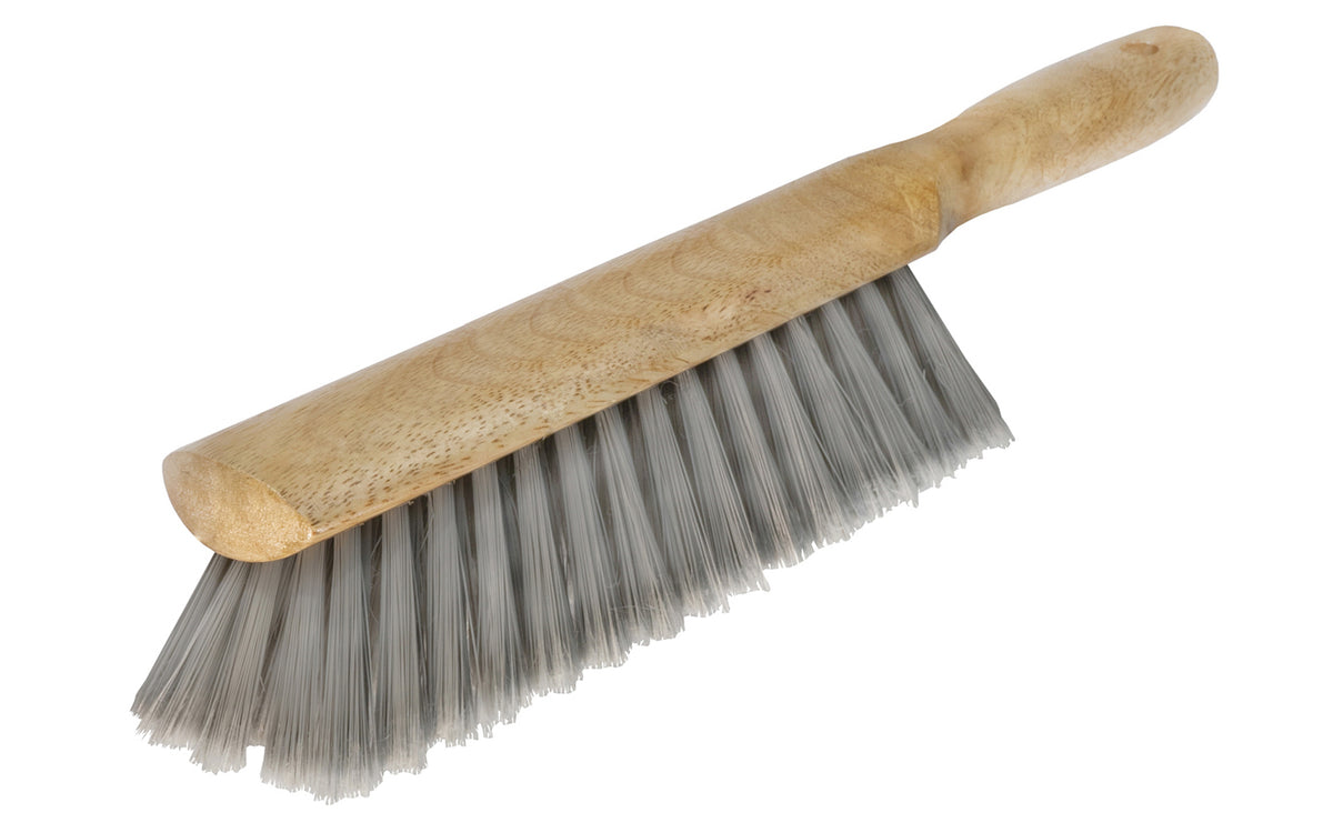 Bench Brush ~ Grey Flagged Poly Fiber Bristles