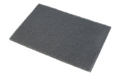 "Norton Bear-Tex Final Shine Pad, Grey 6"" x 9"" - Silicon Carbide, Micro Fine - Model No 74800"