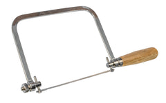 "Olson Deluxe Coping Saw ~ 5"" Cutting Depth - Model No. SF63510 - Cuts wood, plastic, light metal & wallboard"