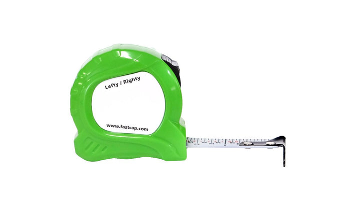 FastCap Mini Tape Measure - Model No. PSSR-6 MINI ~ Lefty / Righty style ~ High-contrast 5/8