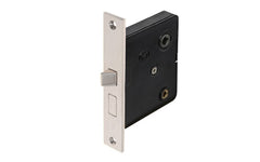 Classic Brass Interior Mortise Lock Set With Thumbturn Hole ~ Polished Nickel Finish