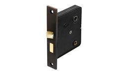 Classic Brass Interior Mortise Lock Set With Thumbturn Hole ~ Oil Rubbed Bronze Finish