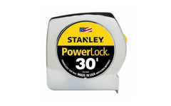 Stanley Powerlock 30' Tape Measure ~ 33-430 - Made in USA