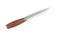 Mora Classic Carbon Steel Knife No. 3 ~ Red Birchwood Handle