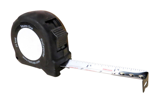 FastCap ProCarpenter Square One Hypotenuse Tape Measure - 25' - Model No. PSQ-25 SQUARE 1 TAPE