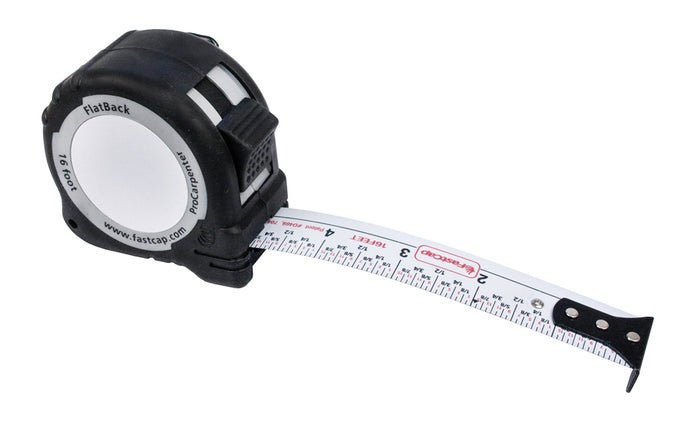 FastCap FlatBack Tape Measure - Standard Story Pole ~ 16' - Model No. PSSP-FLAT16
