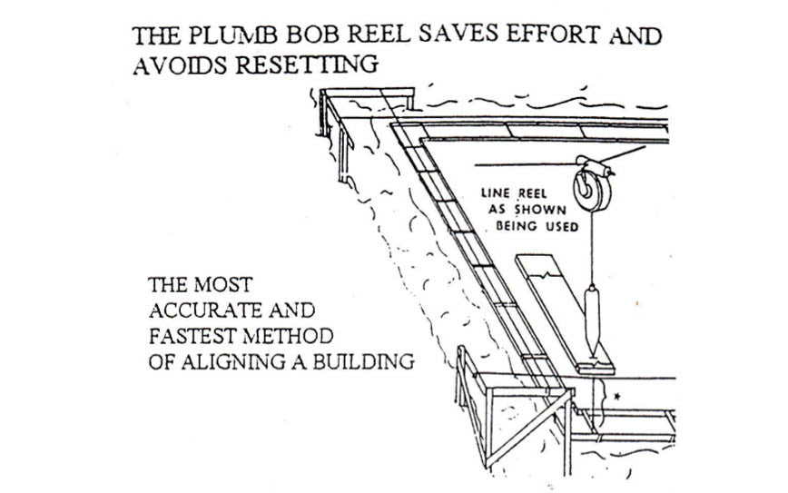 How to mount Mullan Plumb Bob Reel