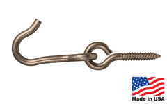 Stainless Steel Hook & Screw Eye