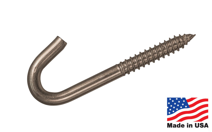 Stainless Steel Screw Hook