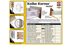 "FastCap 1/2"" Long Screws for Metal Kolbe Korners ~ 200 Pack - Model No. KKMET.42M200PC"
