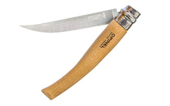 "Opinel Stainless Steel ""Effilés"" Slim Knife ~ Foldable Blade ~ Beechwood Handle"