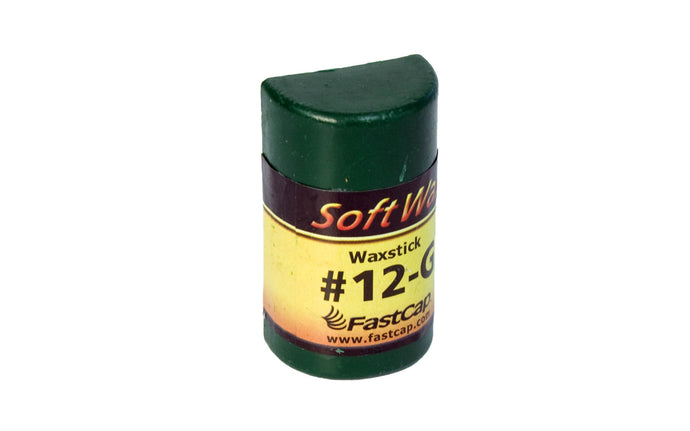 FastCap #12-G SoftWax Refill Stick - Green ~ Model No. WAX12S-G