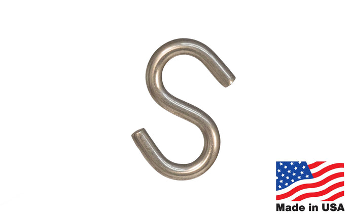 Stainless Steel S-Hook ~ Heavy Duty