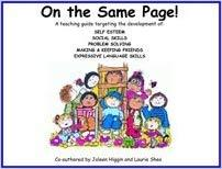 On The Same Page-Joleen Higgin and Laurie Shea-Special Needs Project