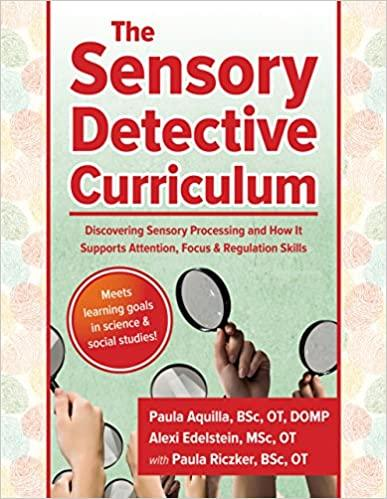 Book cover or image of Sensory Detective Curriculum, Catalog Number 29497.