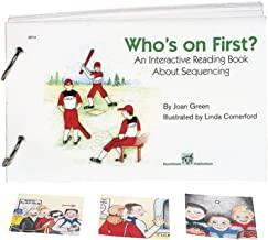 Book cover or image of Who's on First? An Interactive Reading Book, Catalog Number 13728.