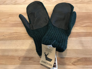 Nutech Boucle-lined Wool Mittens - Great Alaska Glove Company