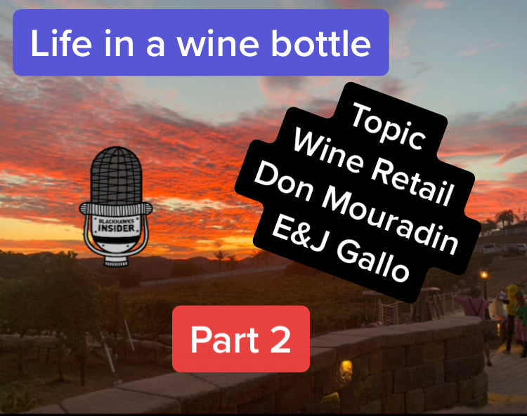 Ep:13.5/pt 2 - Life In A Wine Bottle - Special Guest Don Mouradin w/ E and J Gallo