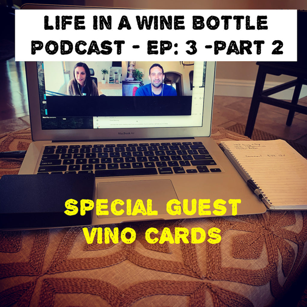 Life In A Wine Bottle - Wine Products - @Vino_Cards pt:2