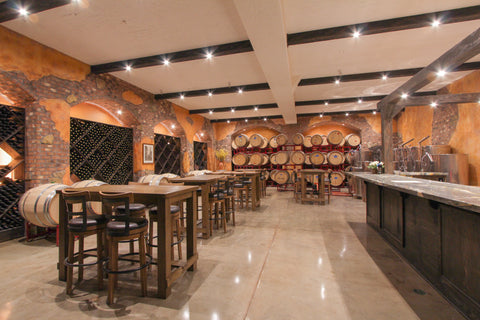 Cellar and Tasting room Castelli Family Vineyards 2