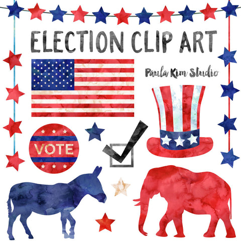 Watercolor Election