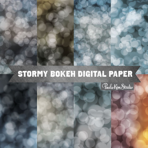 Dark Bokeh Backgrounds