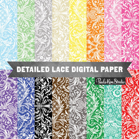 Antique Lace Damask